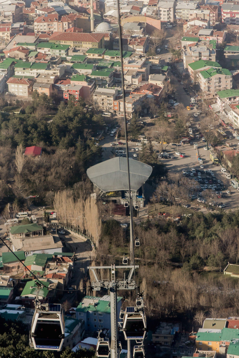 Tefferruc Cable Car Station / Teferruc Teleferik Istasyonu