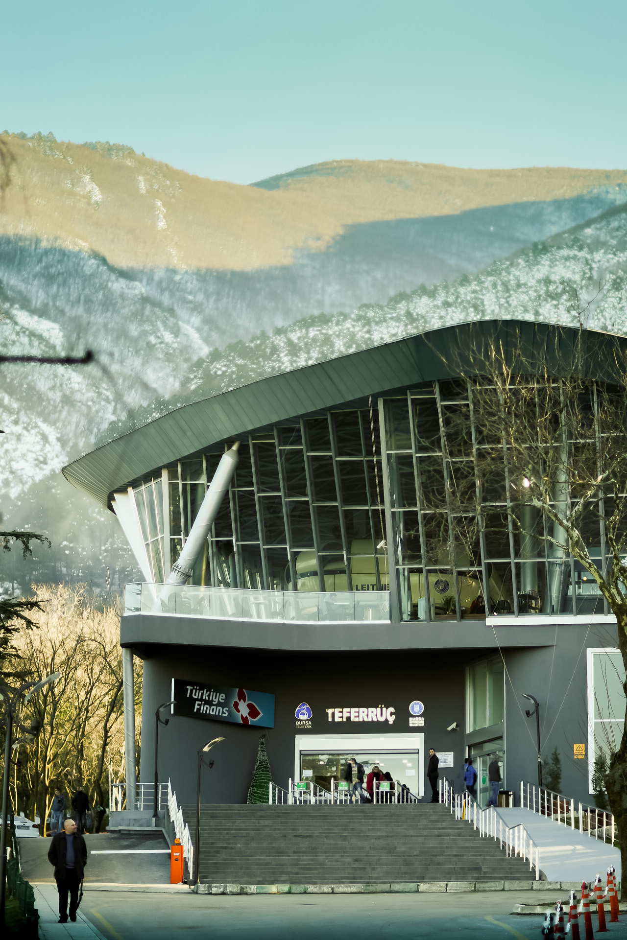 Tefferruc Cable Car Station / Teferruc Teleferik Istasyonu