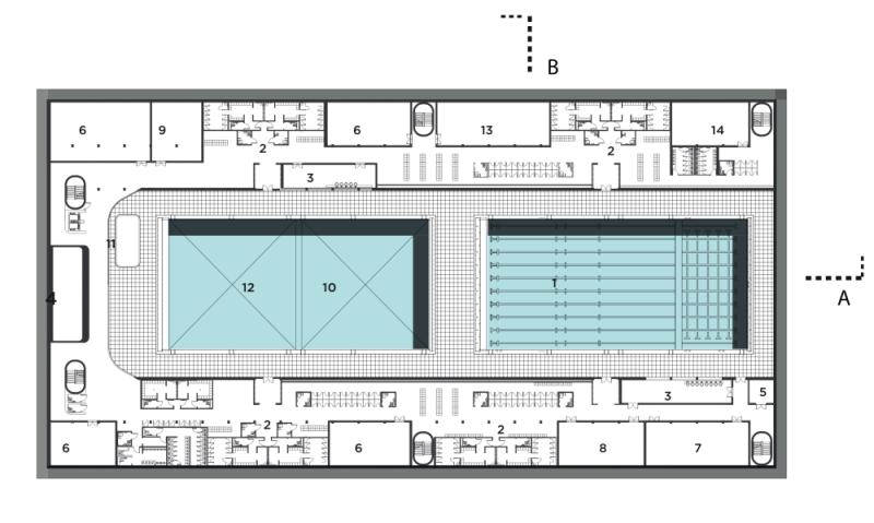 Luleburgaz Olympic Swimming Pool/ Luleburgaz Olimpik Yuzme Havuzu Mimari Proje Yarismasi