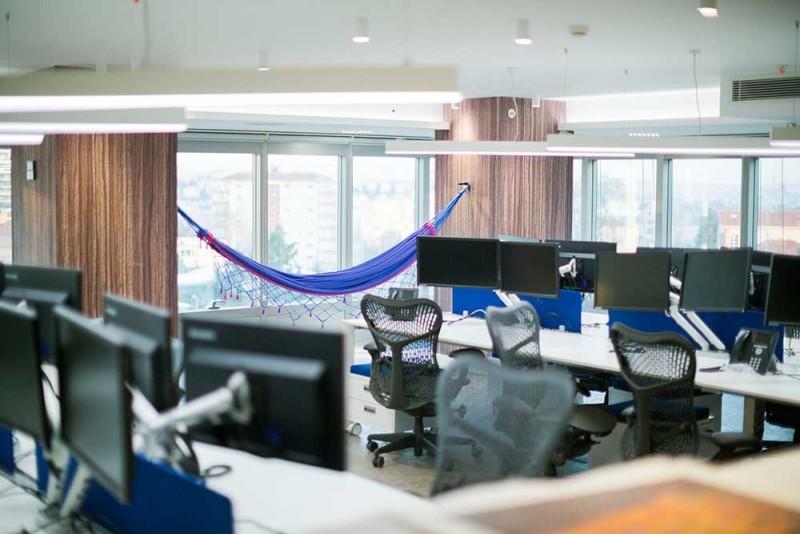 Tech office in Istanbul / Teknoloji ofis tasarımı